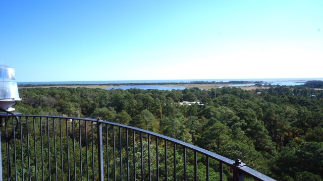 Charming view of Assateague from the lighthouse