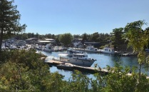 Downtown Tobermory Harbor