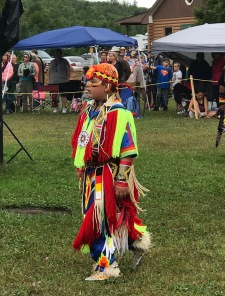 Teen ready for grass dance